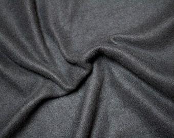Fleece Fabric: Black