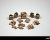 Sacs de toile miniature pour jeux type warhammer, d&d, pathfinder, heroquest, mordheim, dwarven forge