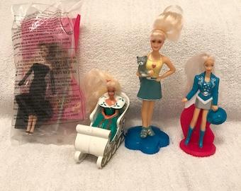 Mini McDonalds Barbie Doll Lot