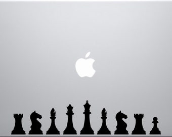 Chess Set  decal for laptops