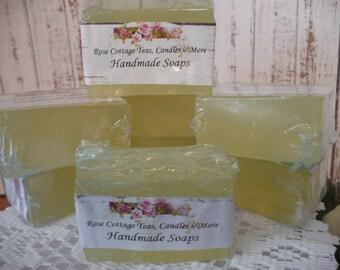 Handmade Garden Soaps Honey Based