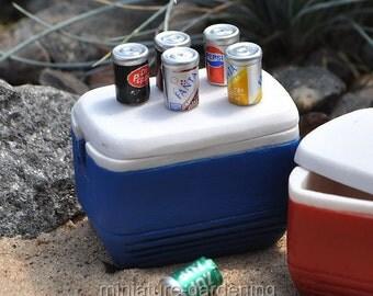 Soda Cans for Miniature Garden, Fairy Garden