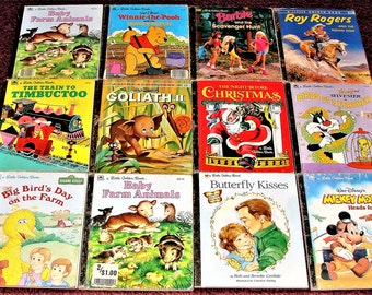 50 Little Golden Books 1940s & Up Great Price