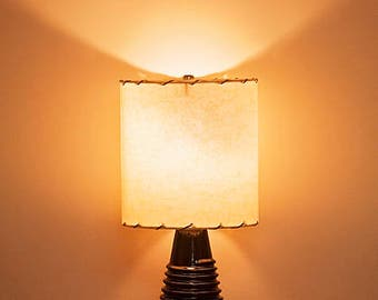 Ceramic Lamp and Shade 234