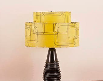 Ceramic Lamp and Shade 237