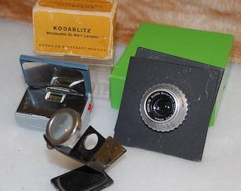Hodgepoge of,  Kodak Ektar Lens, Kodablitz, Grain Focuser!