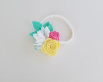 Mini Grace Bloom Headband