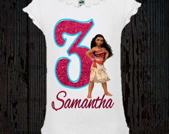 Moana Birthday Shirt - Moana Shirt