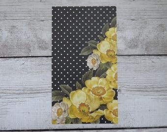 Polka Dot Floral - Personal Size Dashboard - Planner Dashboard - Personal Planner