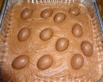 "Rich & Fudgy Homemade Cadbury Creme Egg Brownies (8""x8"" Tray)"