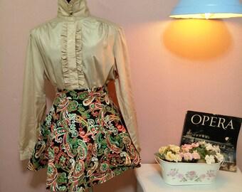 90's Skirt. Colorful Skirt. Womens Skirt. Retro Skirt.1990 Skirt. colorful Vintage Skirt For Women 1990's . Free shipping. Size S