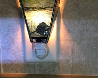 Stained Glass Night Light - Stingray