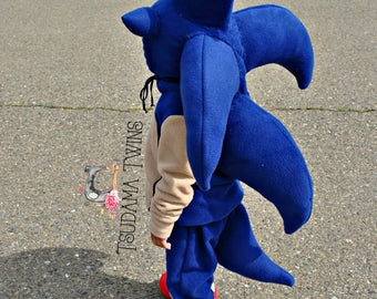 Sonic The Hedgehog inspired costume