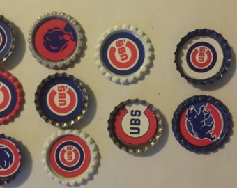 Cubs Cupcake Toppers Etsy