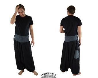 Fleece Harem Pant black