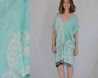 Caftan Tunic turquoise