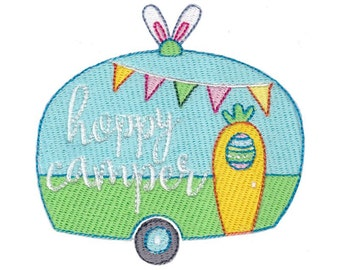 Easter Sentiments Too Design 1 Filled Stitch Machine Embroidery Design 4x4 5x7