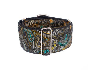 1,5 inch Martingale collar, 1.5 inch,  martingale dog collar, greyhound collar, martingale collar,collars,dogs collars,martingales