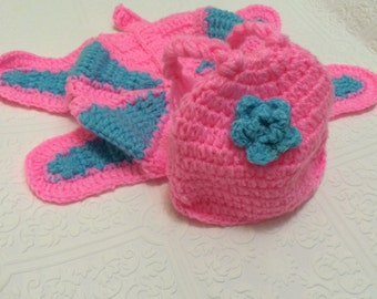 photography prop,  butterfly baby crochet, butterfly baby prop, crochet butterfly for baby, pink and blue crochet butterfly,baby photography