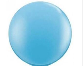 Jumbo Pale Blue Balloon