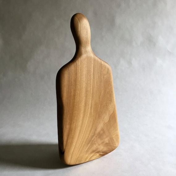 hand carved poplar cutting board