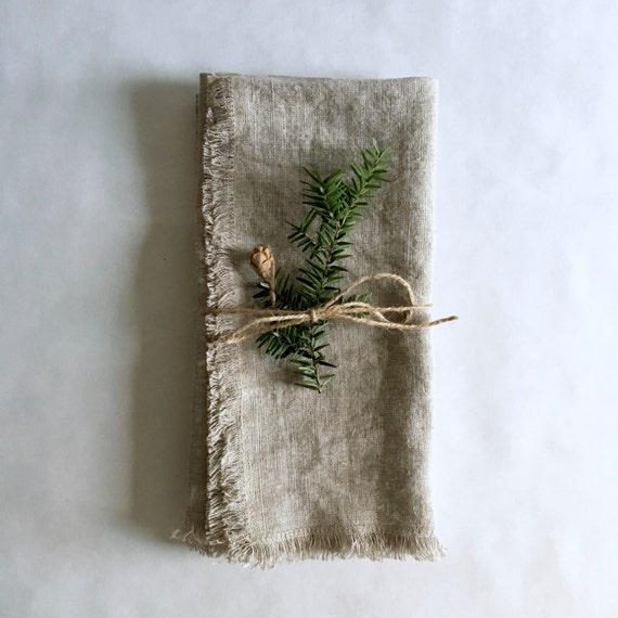 linen napkins, set of 2