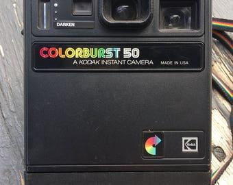 Vintage Camera Vintage Kodak Colorburst 50 Camera Kodak Instant Camera Old Camera Photography Prop