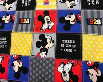 Mickey Mouse patchwork Curtain Valance
