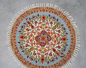 4 Round Rug Mandala Rug Floral Area Rugs Cool Rugs By