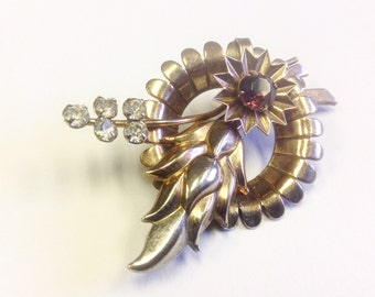Vintage, Art Deco, 1930s or 1940s, brooch or pendant.