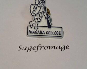 Niagara college pin