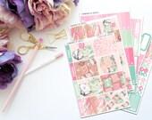 Planner Babe Vertical Weekly Kit-- Matte Planner Stickers