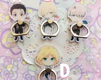Case ADD On: Yuri On Ice Ring Holders