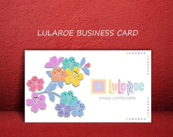 Lularoe business cards approved etsy for Etsy lularoe business cards