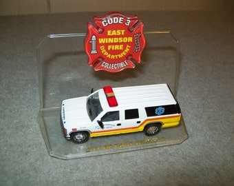 Limited Edition Code 3 Suburban-East Windsor Fire Department