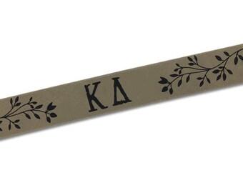 Kappa Delta Cuff Bracelet