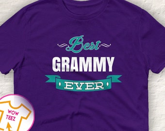 Grammy shirt Best Grammy Ever. Also names such as Mimi & Nana.  All grandmas would love to wear this Grandma T-shirt