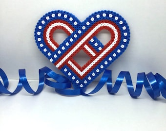 I Love Mom Hama Beads Gift Mothers Day Gift Home