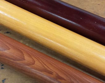 "2"" Wood Drapery Rod/Pole Remnants"