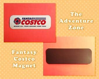 The Adventure Zone Fantasy Costco Magnet
