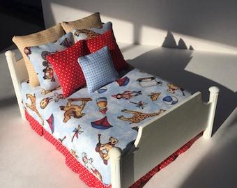 Artisan Dollhouse Miniature Double Bed - Boys' Toys