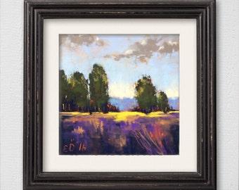 "Original Pastel Painting ""Journey"""
