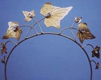 Unusual Ivy leaf Tiara