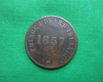 Prince Edward Island 1857 Freedom Coin