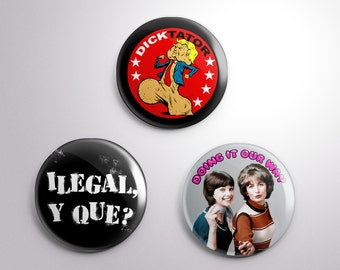 "RESIST! Button Pack  - set of three 1.25"" buttons"