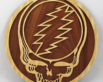 "Grateful Dead ""Stealie"" Wall Plaque"
