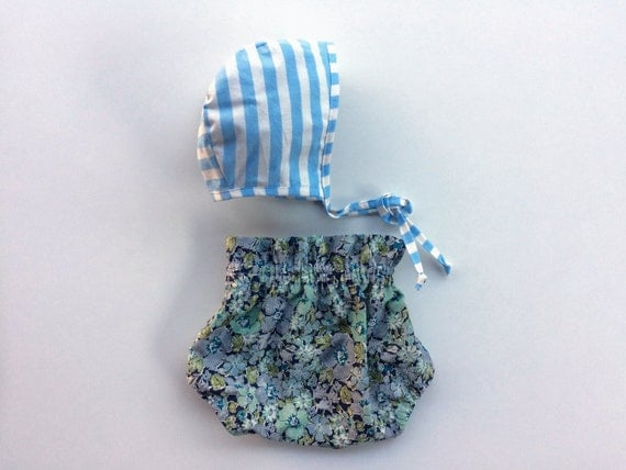 Liberty of London ruffle baby bloomers