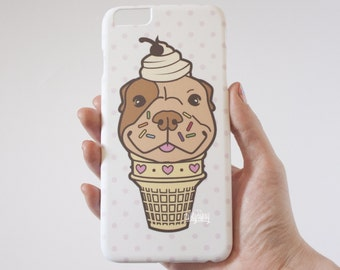 Pibble Pit Bull Cute iPhone 6s+ Case