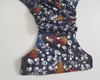 Barking Mad One Size Pocket Diaper