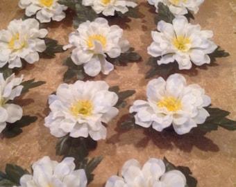 Vintage flower magnets